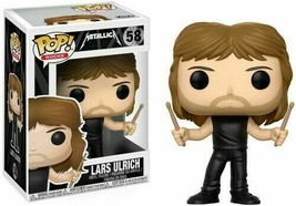 Metallica #58 - Lars Ulrich - Funko Pop! Rocks - Brand New rare - $14.16