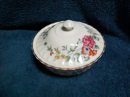 Wedgwood Avebury Covered Round Dish Bowl - $27.71