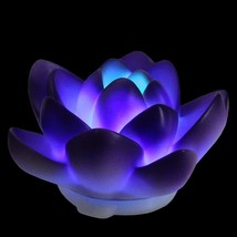 """Pool Central 4"""" Purple Flower LED Color Changing Patio or Swimming Pool ... - €13,13 EUR"""