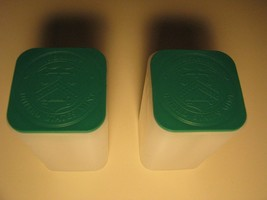 TWO LIGHTLY USED EMPTY US MINT SILVER EAGLE TUBES GREEN *No Coins* STORA... - $5.99