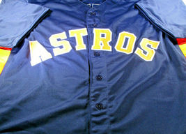 ALEX BREGMAN / 2019 ALL-STAR / AUTOGRAPHED HOUSTON ASTROS BLUE CUSTOM JERSEY COA image 2