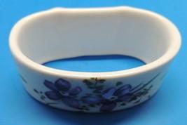 Hammersley Victorian Violets Napkin Ring Fine Bone China England - €16,61 EUR