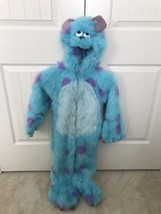 Rare DISNEY STORE Monsters Inc Sully Halloween blue Plush Furry Costume ... - $1.729,39 MXN