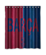 Barca 02 Shower Curtain Waterproof Polyester Fabric For Bathroom  - $33.30+
