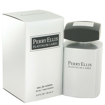 Perry Ellis Platinum Label by Perry Ellis 3.4 oz EDT Cologne Spray for M... - $25.87
