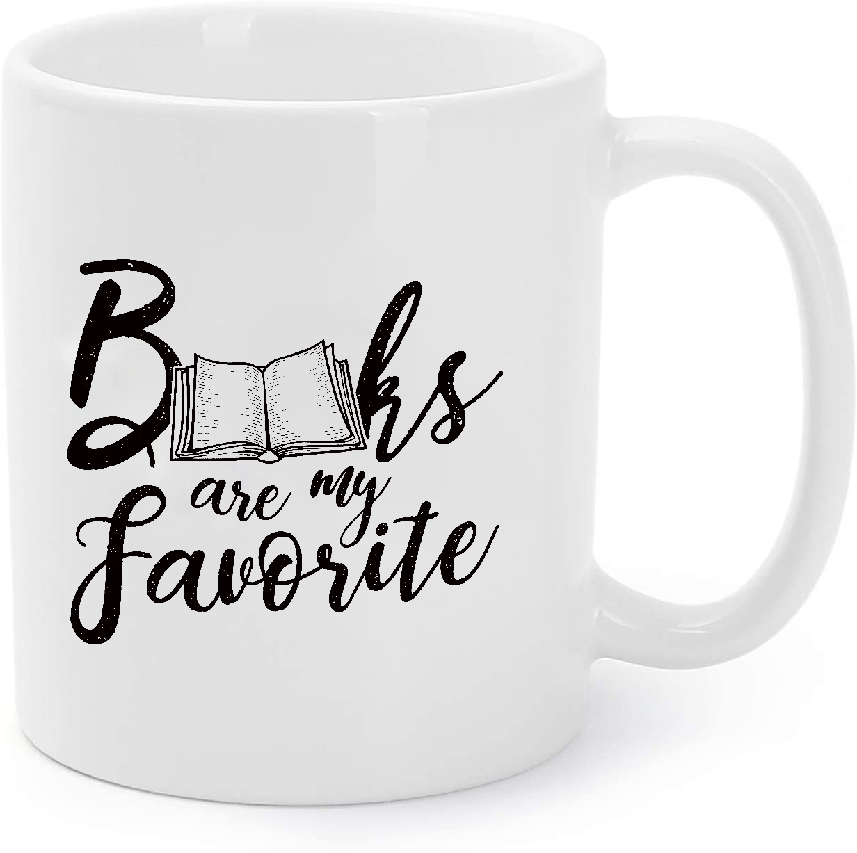 Primary image for Books Are My Favorite - Book Lover - Librarian Gift Coffee Mug