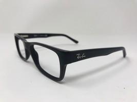 RAY-BAN MENS Eyeglasses RB5268-5119 50-17-135 Glossy Black BX52 - $55.62