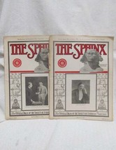 The Sphinx 1922 2 issues - $49.50