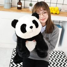 Cute Baby Large Size Panda Bear Plush Stuffed Animal Doll Animals Toy Pillow Car image 5