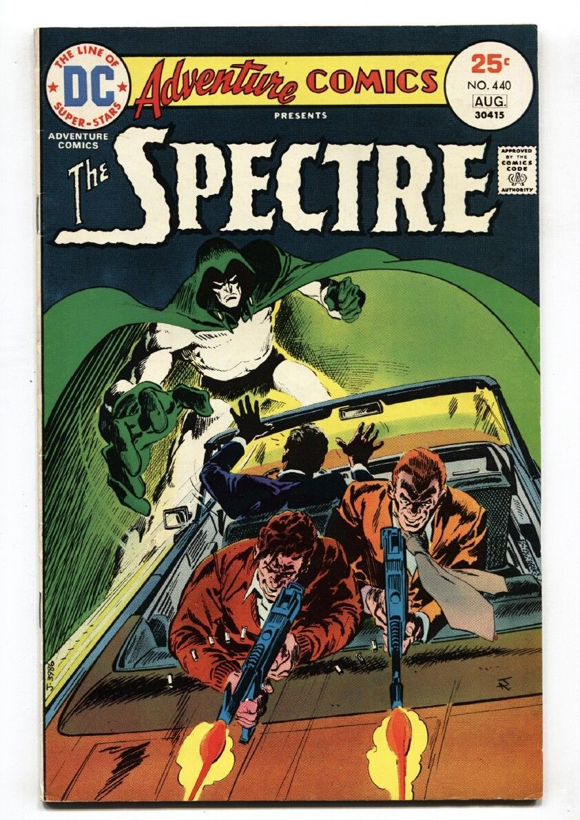 ADVENTURE COMICS #440 Origin of the SPECTRE-Comic book 1975