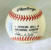 YOGI BERRA / MLB HALL OF FAME / AUTOGRAPHED OFFICIAL N.L. BASEBALL / JSA COA image 2