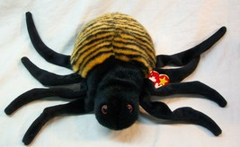 "TY Beanie Buddie Buddy SPINNER THE SPIDER 9"" Plush STUFFED ANIMAL Toy NEW - $19.80"