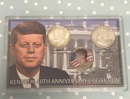 J.F. Kennedy 40th Anniversary  3 Half Dollar Collection - $18.17