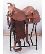 Tex Tan Genuine Leather Ranch Pleasure or Trail Western Horse Saddle 15.... - $647.54