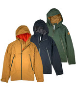Timberland Men's Fleece Lined Hooded Water-resistant Cotton Jacket A1YUT - $89.99