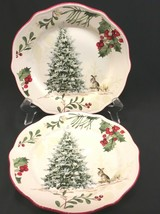 """2 Better Homes & Gardens Heritage Collection Winter Forest Bunny 8-3/4"""" ... - $21.99"""