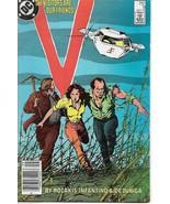 1985 V TV Series Comic Book #8 DC Comics Copper Age - $3.99