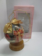 """Mattel 1997 Holiday Barbie 4"""" Decoupage Ornament NEW IN BOX! - $12.82"""