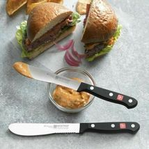 Brand NEW Wüsthof Gourmet 4 Piece No Stain Steel Burger Knife Set Germany NIB image 4