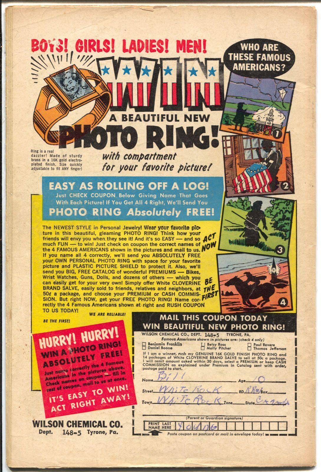 Gunsmoke Western #65 1961-Marvel-Jack Kirby-Kid Colt-Stan Lee-Don Heck-VG-