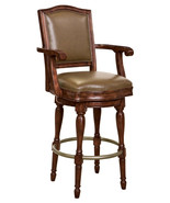Howard Miller 697-027 (697027) Cheers Bar Stool swivel, faux leather cus... - £602.56 GBP