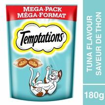 5x Whiskas Temptations Cat Treats Tempting Tuna - Mega Pack 180g Each -F... - $22.27