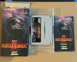 Mortal Kombat II Super Famicom Japan Midway Acclaim SNES - $64.35