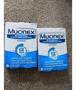 2 x Mucinex Expectorant 12 Hour 600 mg 40 Tabs Total Exp 01/2022 - $39.00