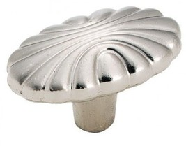 AMEROCK Cabinet Knobs Drawer Pulls Sterling Nickel Silver Oval Shape  BP1338G9 - $2.69