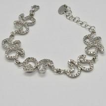 Silver Bracelet 925 Wings of Butterfly Zircon by Maria Ielpo Made in Italy image 2