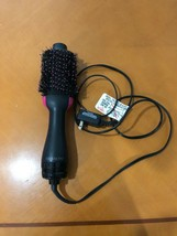 Revlon Black Pink Oval One-Step Hair Dryer and Volumizing Styler - DOES NOT WORK - $9.89