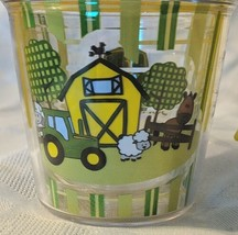 John Deere LP67610 6oz My First Tervis Yellow Farm Scene Sippy Cup image 2