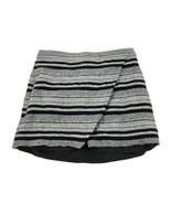 Womens J.Crew Black Gray Skirt 4 - $19.79