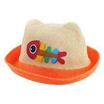 Sun Hat Baby Boys And Girls Summer Hat Visor Baby Hat Straw Hat Summer