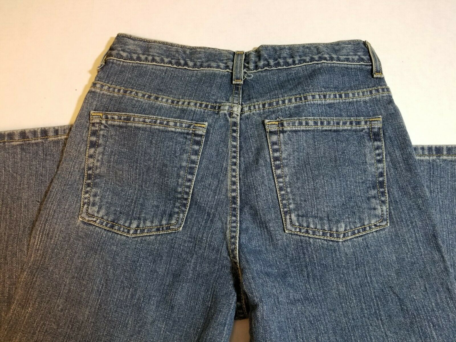 NWT Route 66 Boys Husky Bootcut Jeans Size 12H Medium Wash Pants image 3