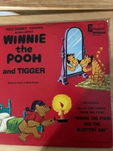 Walt Disney songs about Winnie the Pooh & Tigger Vinyl Record Album 1968 - $9.87