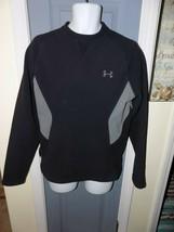 Under Armour Black/Gray Fleece Pullover Sweatshirt Size S Men's EUC - $25.20
