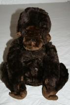 "Dakin MONKEY 18"" Stuffed Animal Brown Plush Soft Toy VTG 1979 Chimp Gori... - $38.67"