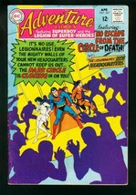 ADVENTURE COMICS #367 1968-NEW HEADQUARTERS-SUPERBOY-LEGION SUPER HEROES-VG - $25.22