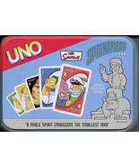 Uno Card Game 2005 Simpsons Springfield humor Sababa Toys H26 - $19.77