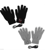 Winter Gloves Phone Connected With Bluetooth And Wireless Headphone Mic ... - $17.99