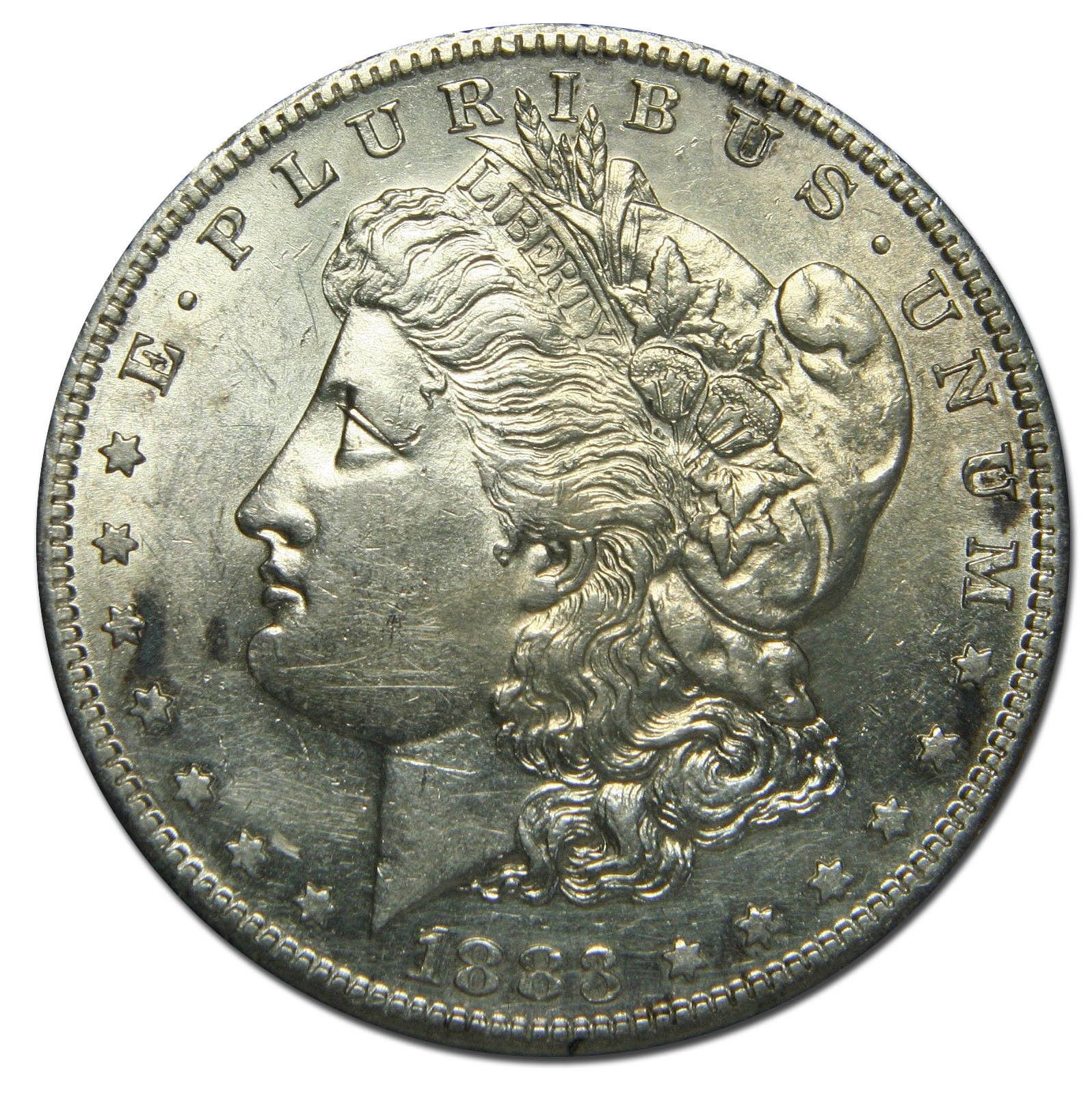 1883S MORGAN SILVER DOLLAR COIN Lot# MZ 2731