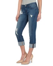 """New ROCK & REPUBLIC R&R Size: 6 """"OFF THE CHAIN"""" Kendall RIPPED Capri Jeans - $60.00"""