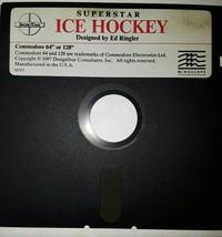 "Commodore 64 Superstar Ice Hockey by SportTime  C64/128 5.25"" floppy dis... - $14.15"