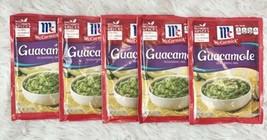 5x McCormick Guacamole Seasoning Mix 1.6oz Packets Exp Aug 2021 - $21.95