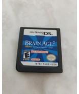 Brain Age 2 Demo Cart Nintendo DS USA Version Kiosk NFR - $28.21