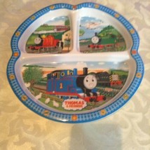 Thomas & Friends plate Pecowear melamine dinner plate section blue - $10.50