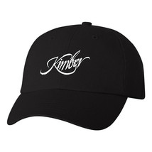 Kimber Logo Flexfit Fitted Hat Pro Gun Stretch Fit Ball Cap Rifle Pistol... - $16.99