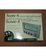Perfect Solutions Score-4 Digital Scoreboard 4 Players - $21.97