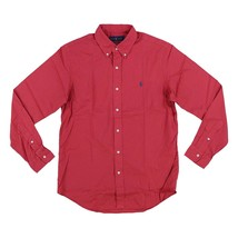 POLO Ralph Lauren Mens Classic Fit Stretch Long Sleeve Buttondown Red XL - $56.09